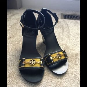 Tory Burch wedges, size 6.5